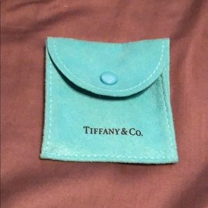 Authentic Tiffany & Co small duster bag